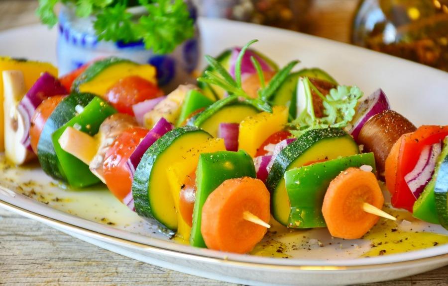 Plant Based Diet Vegetable Skewer